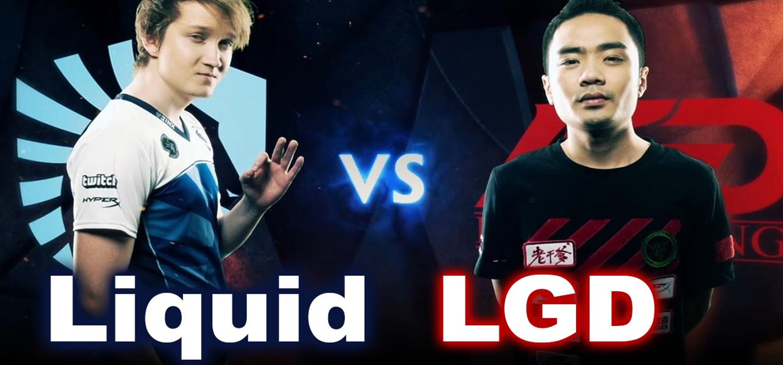 Team Liquid vs LGG