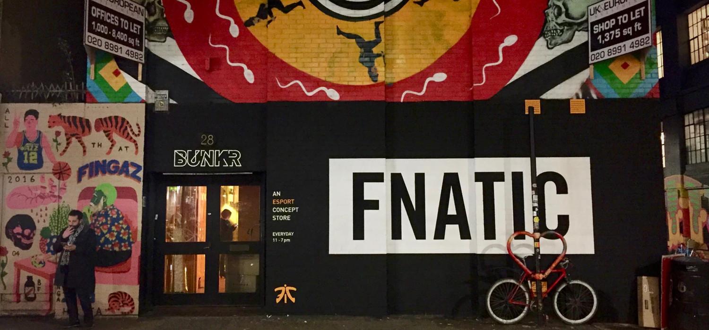 Fnatic winkel in Londen