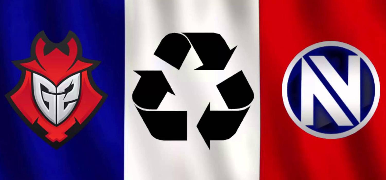 G2 en EnVyUs hervorming zonder belgen