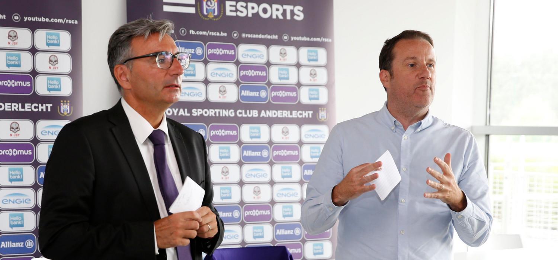 Anderlecht eSporter betaald door Hello Bank