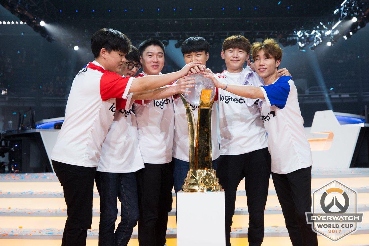 Zuid Korea wint WK Overwatch