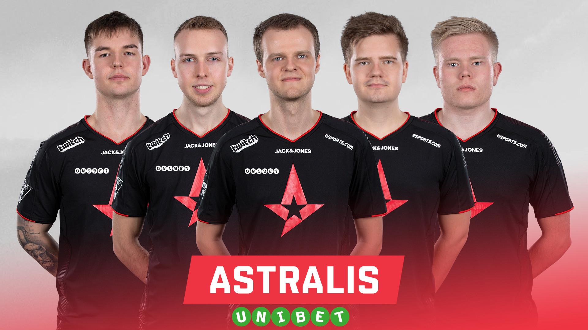 Unibet hoofdsponsor Astralis