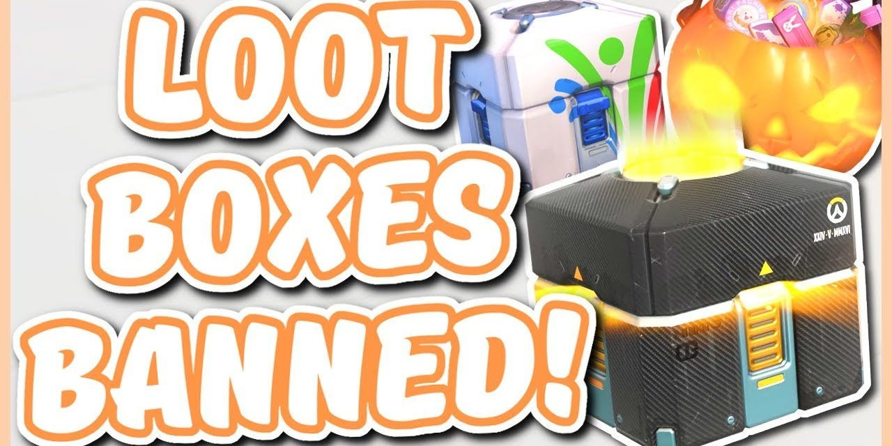 block op Overwatch lootboxes in Belgie